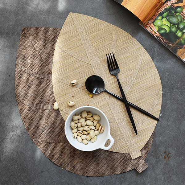 Leaf Shaped Placemats