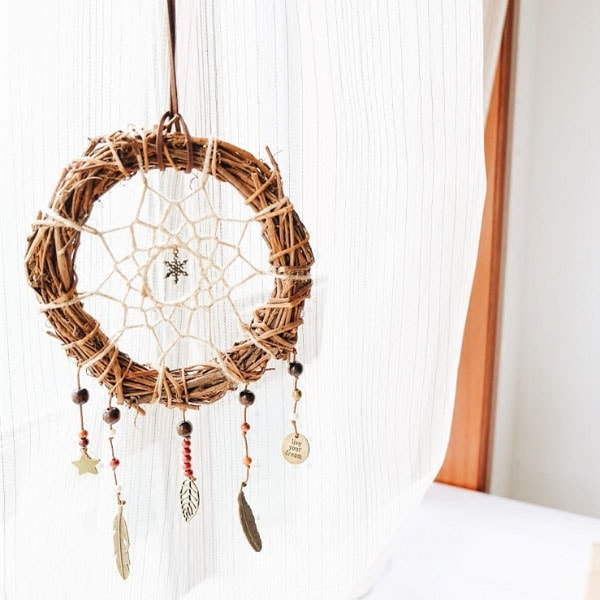 Grapevine Wreath Dream Catcher