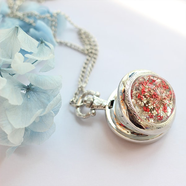product image for Flower Pocket Watch Necklace