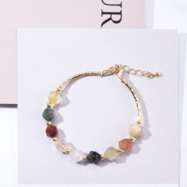 product thumbnail image for Faceted Crystal Bracelet