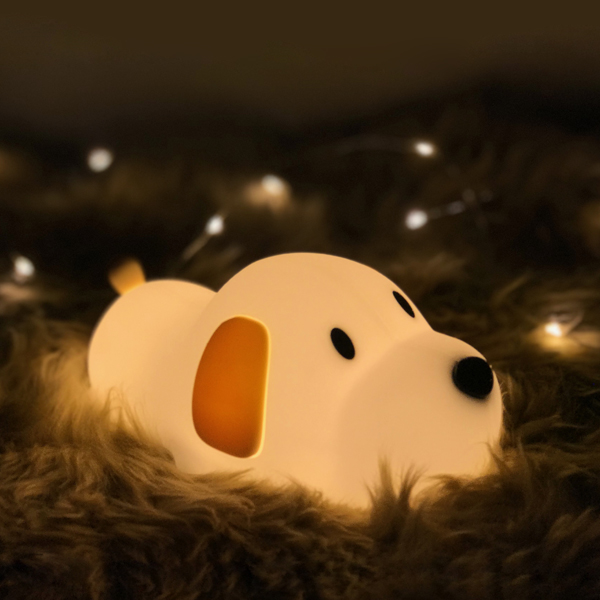 Silicone Puppy Night Light