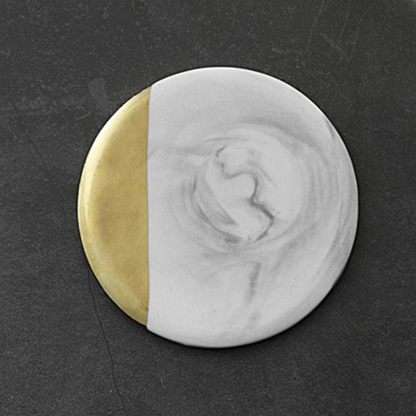 product image for Gold Dipped Marble Coaster