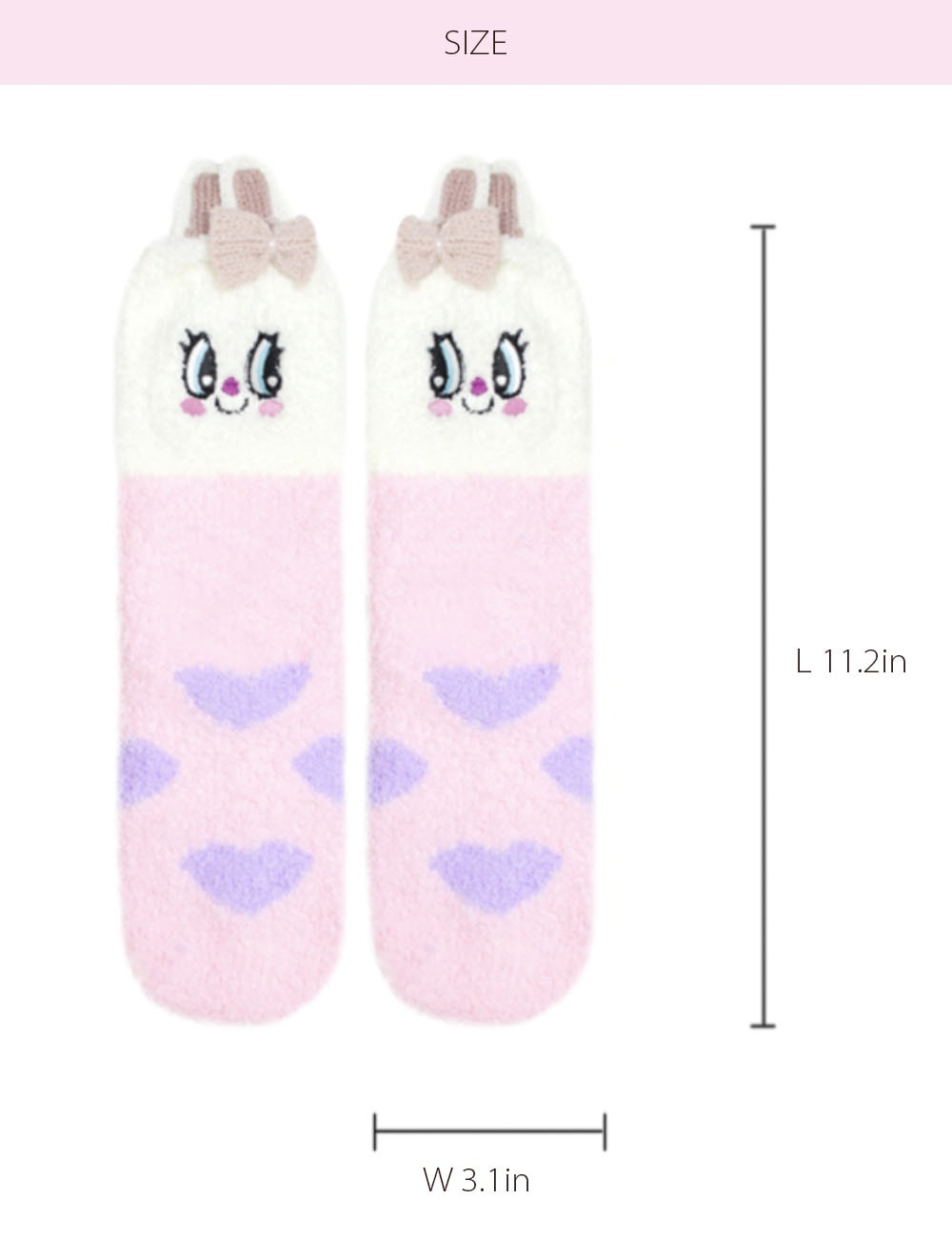 Bunny Socks Unique Design