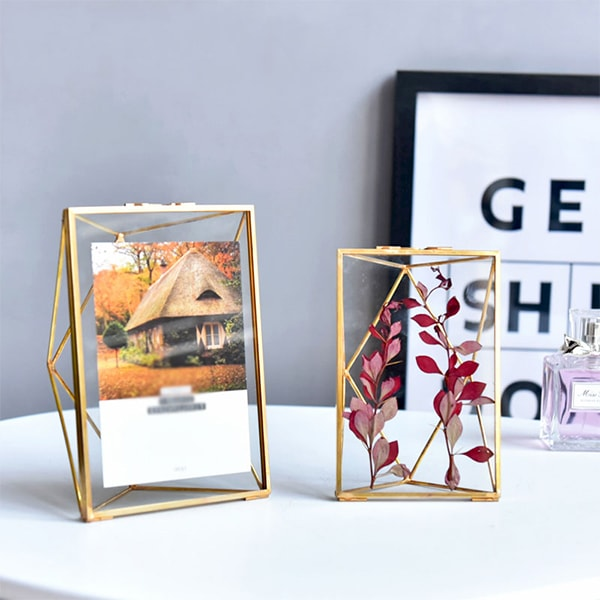 Product Image For Metal Tabletop Photo Frame ...