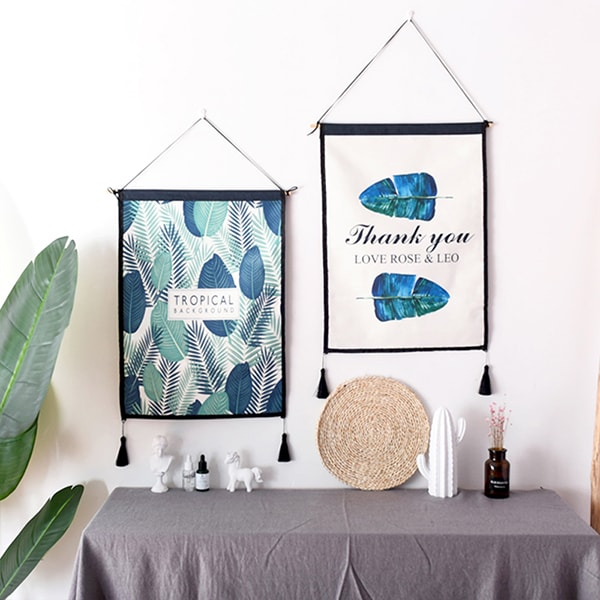 Modern Fabric Wall Hanging