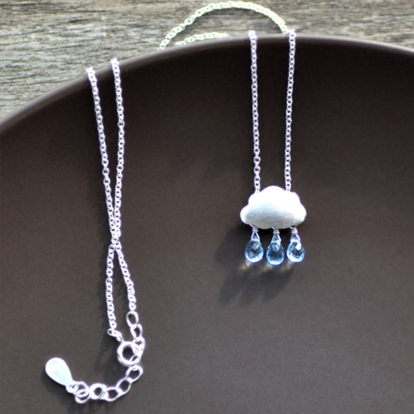 product image for Rain Cloud Necklace