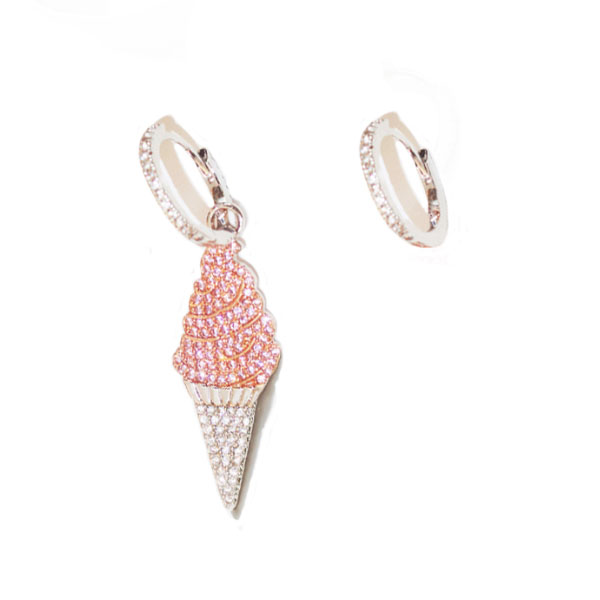 Ice Cream Crystal Earrings