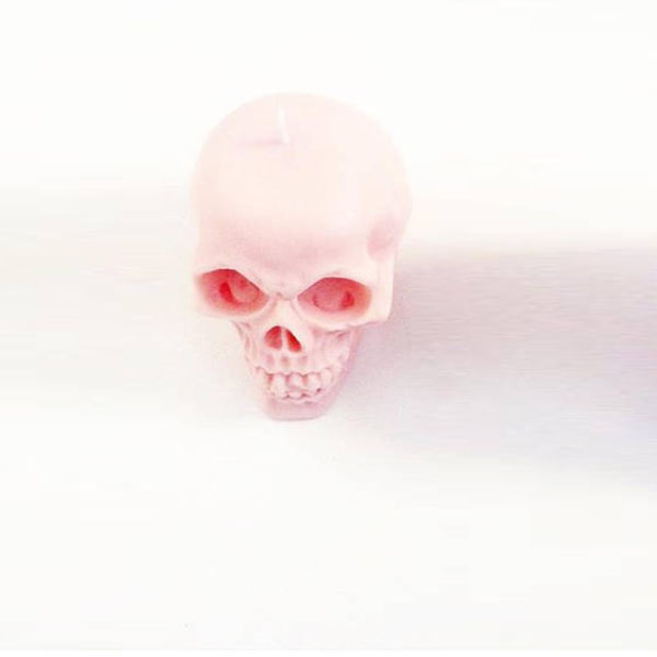 product image for Pastel Skull Candle