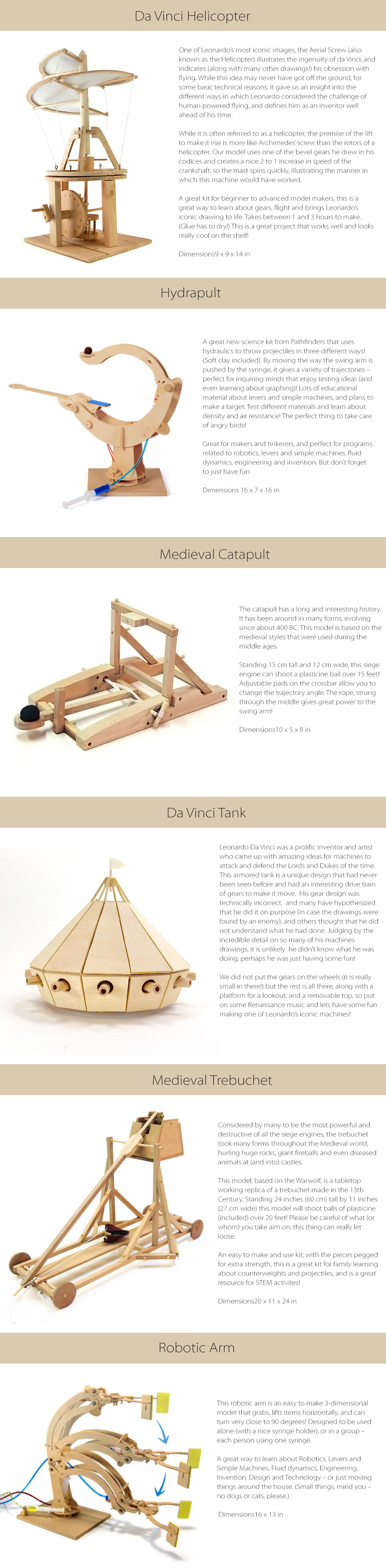 Wooden Science Kit Play &  Learn