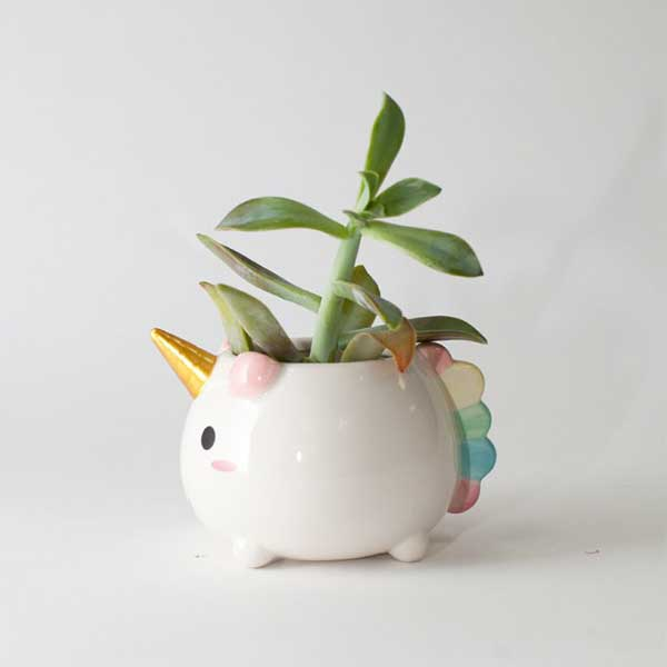product image for Elodie Unicorn Planter