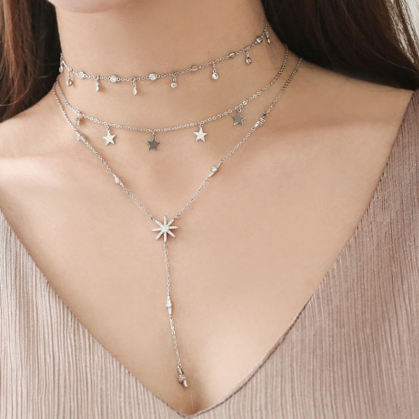 product image for Starburst Lariat Necklace