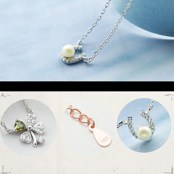 product thumbnail image for Sterling Silver Pendant Necklaces
