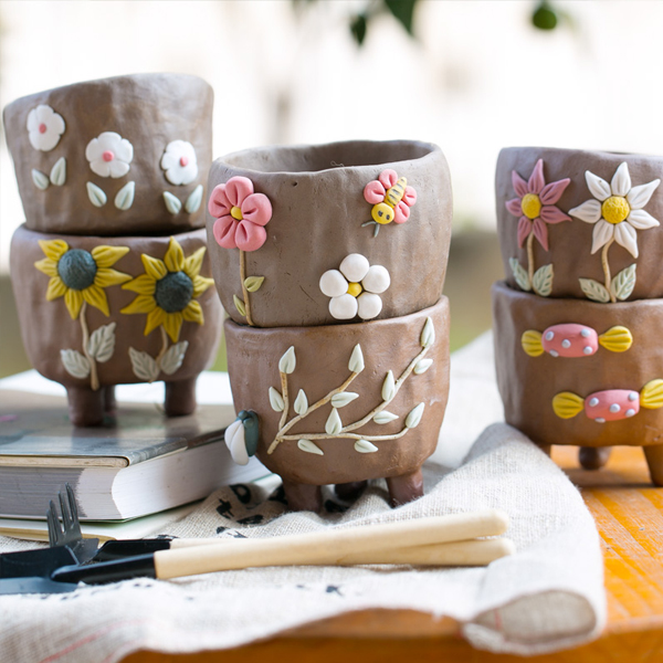 3D Mini Flower Pots