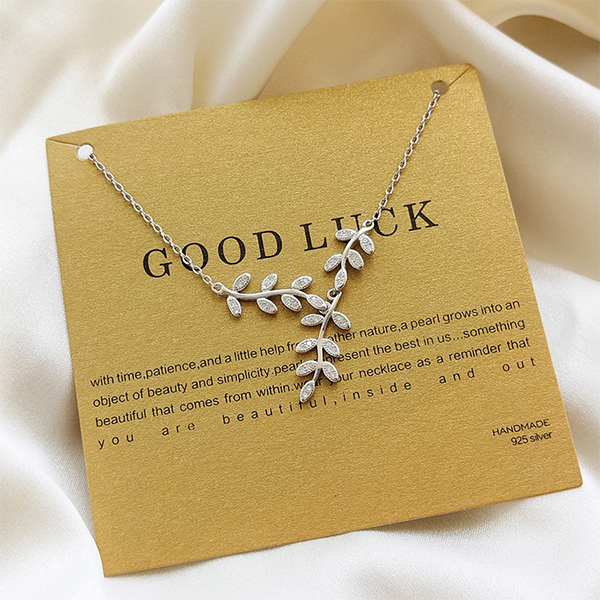 product image for Good Luck Leafy Vine Necklace