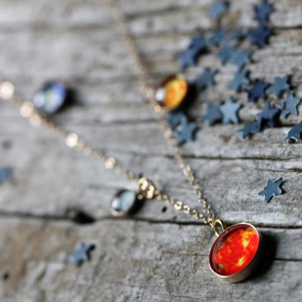 product image for Solar System Long Necklace