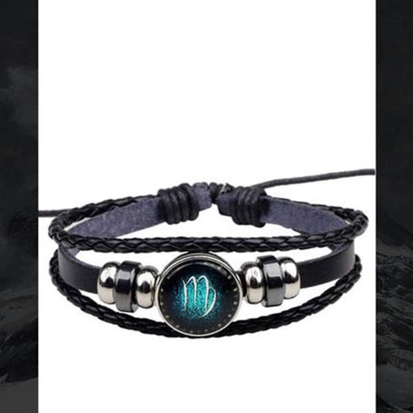 product image for Zodiac Leather Bracelet