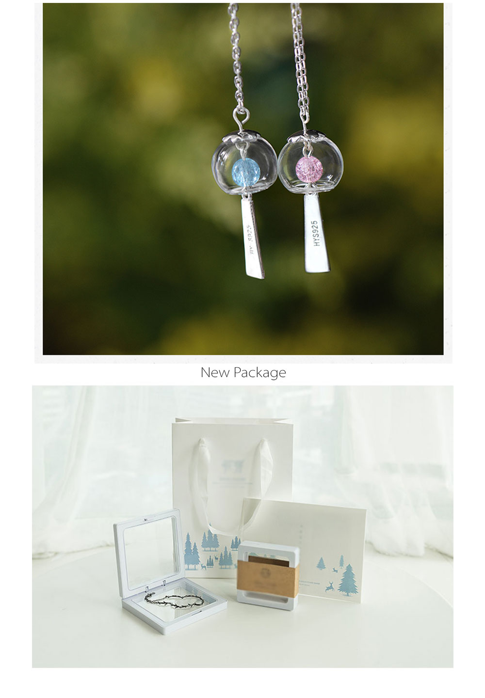 Flower Bud Wind Chimes Necklace Wind Chime Collection