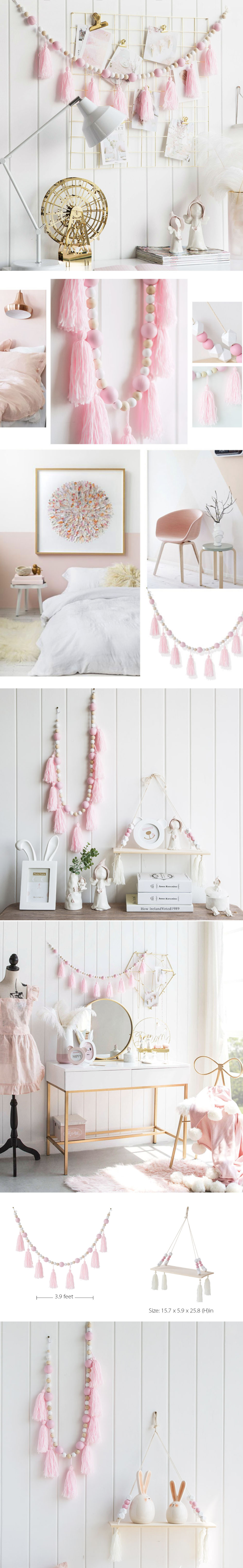 Wall Decor Pink Decor