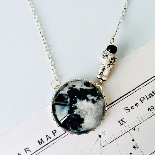 Moonwalk Necklace