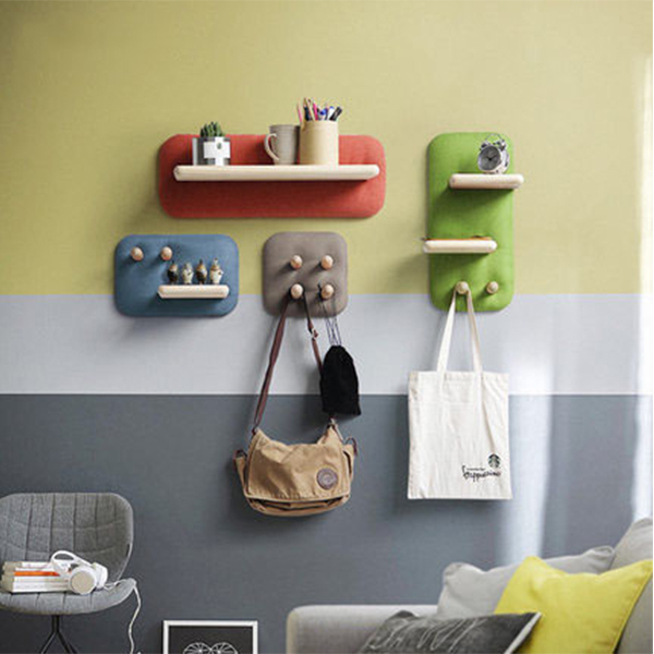 product image for Nordic Wood Wall Mount Rack