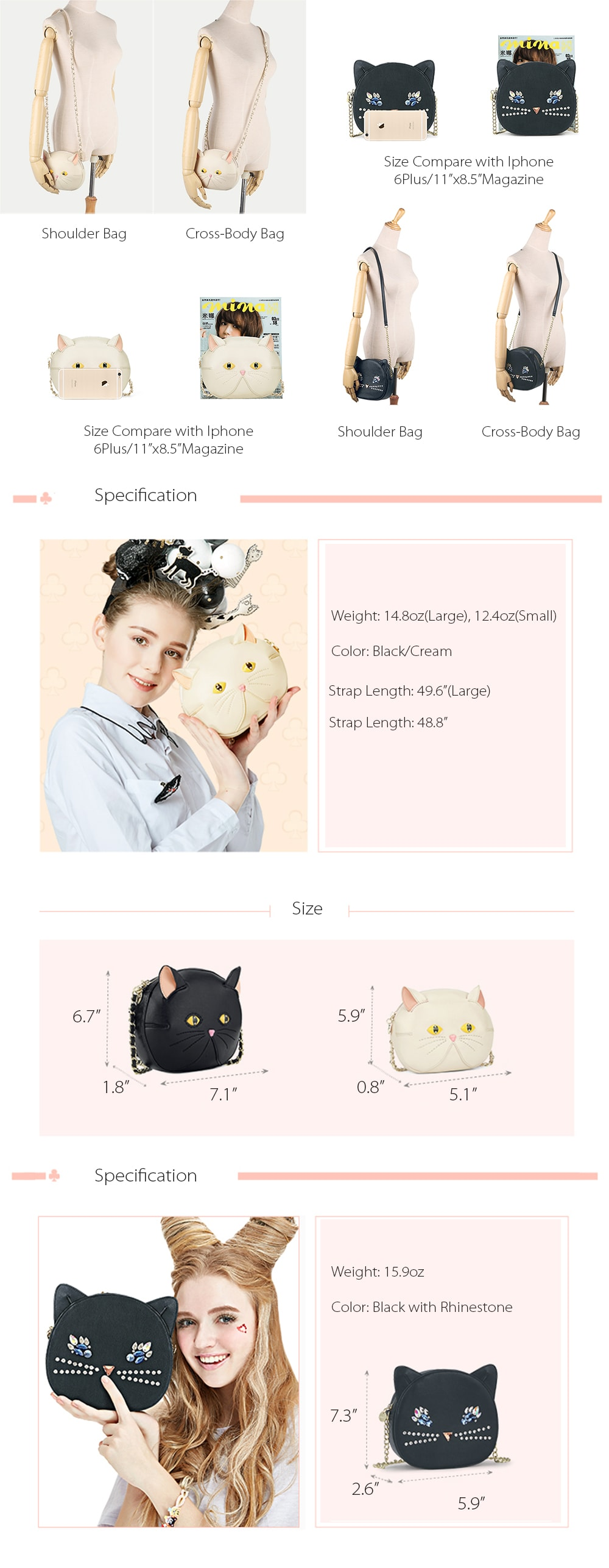 Artmi Kitty Bag Fashion From Artmi