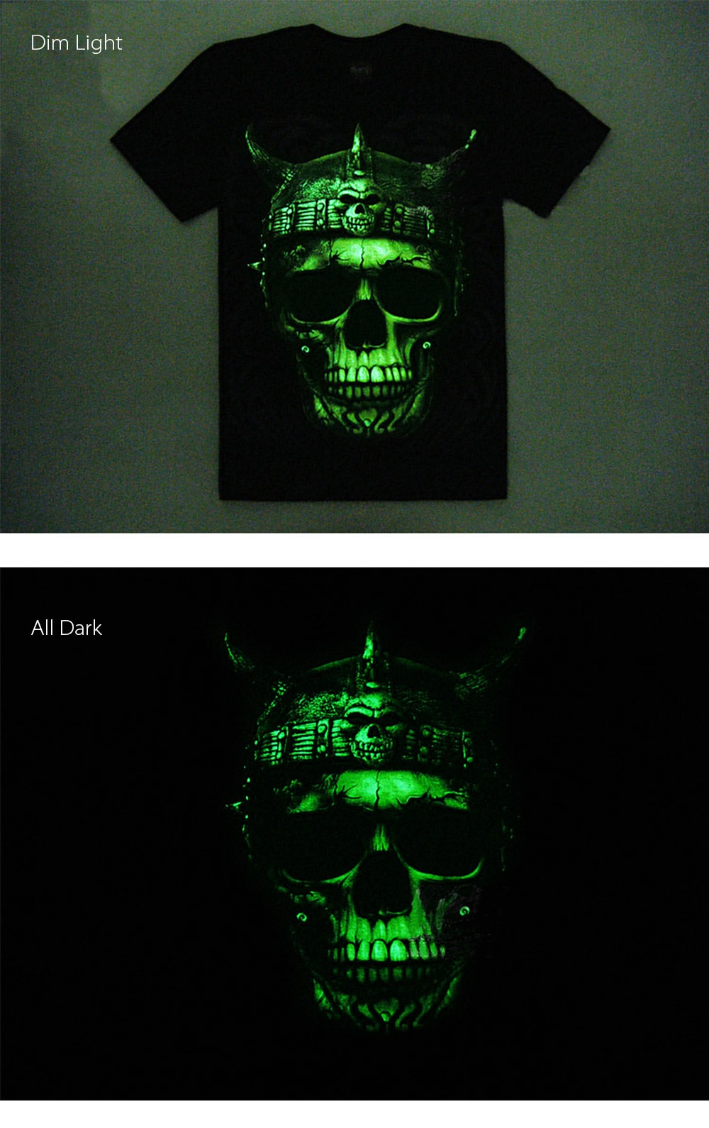 Metal Heaven T-Shirt Glow in The Dark