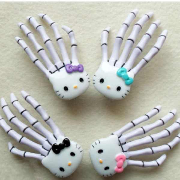 product image for Skeleton Hand Hair Clip
