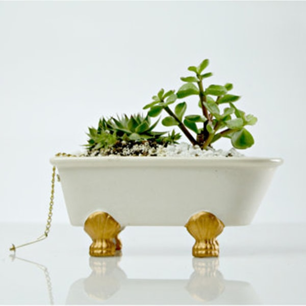 product image for Vintage Bathtub Planter