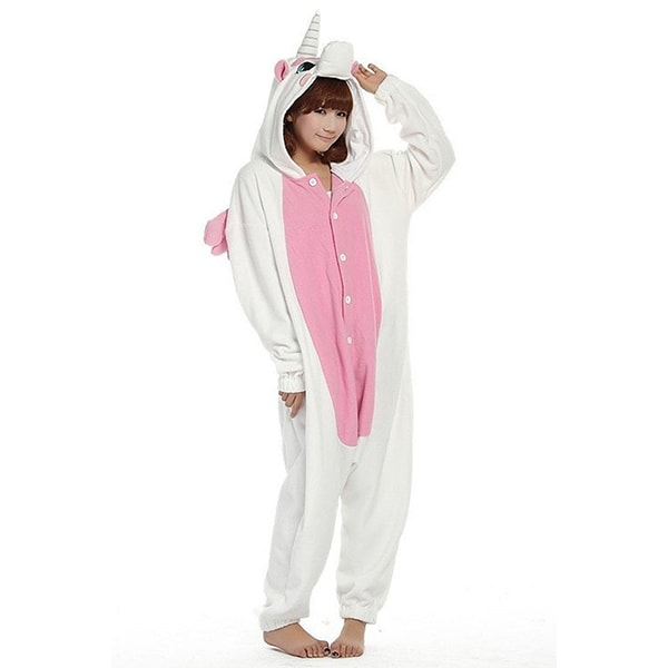 Unisex unicorn onesie costume kigurumi pajamas apollobox for Salon youtubeuse