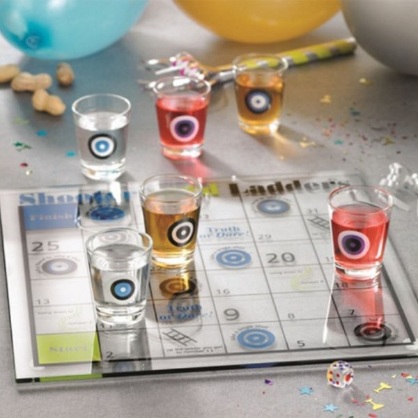 product image for Shoots and Ladders Shot Glass Game Set