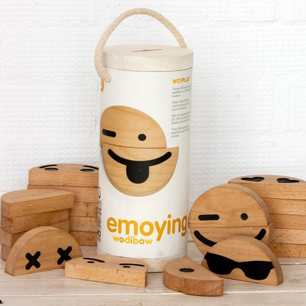 Wood Emoji (20 pcs) Set
