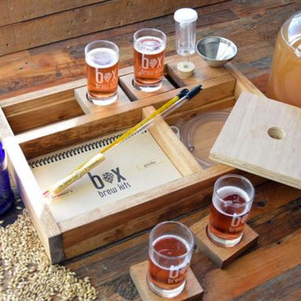 "product image for ""The Taster"" one gallon beer making kit"