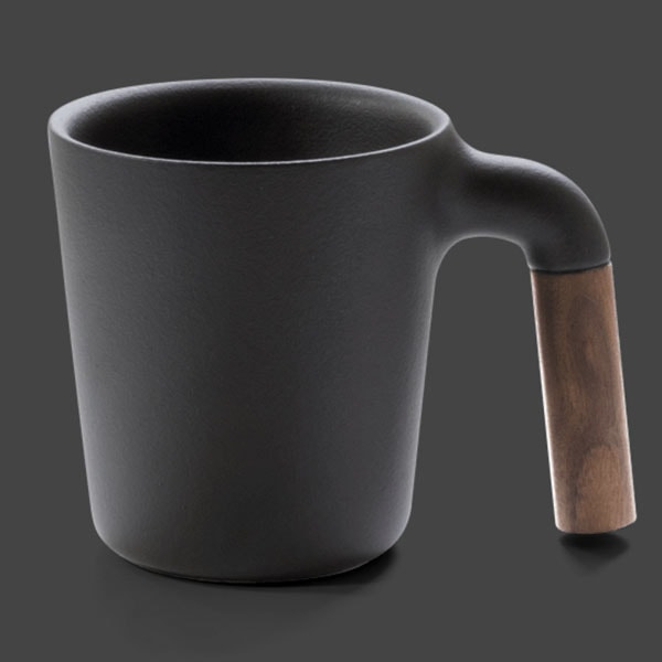 product image for Mugr Ceramic and Wood Coffee Mug