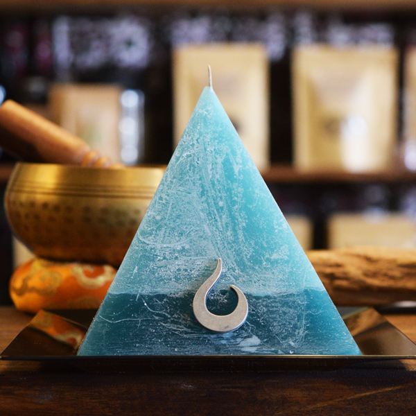 City Monk Pyramid Candle