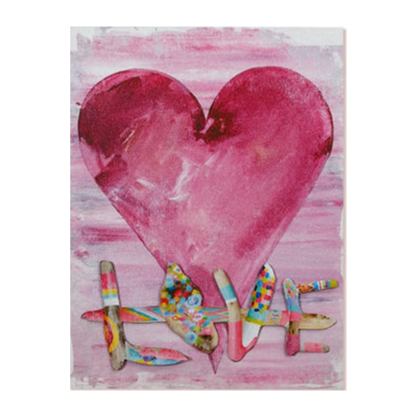 Love Collage Wall Art Paintings