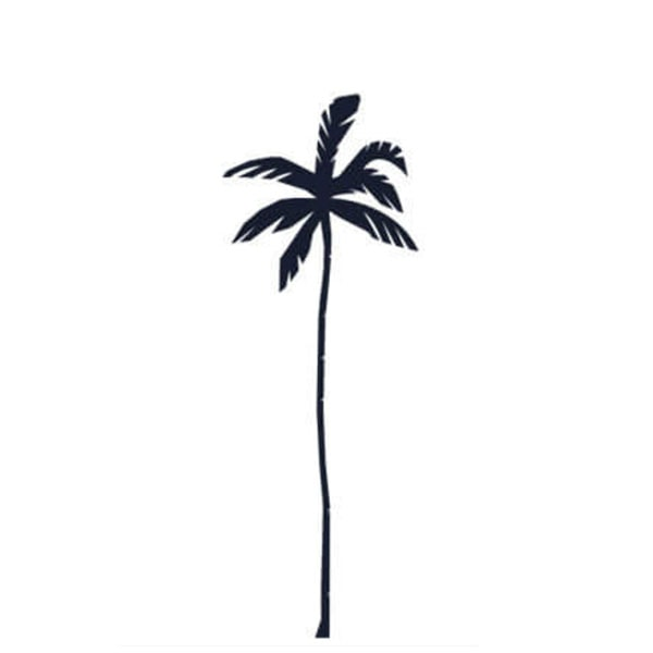 Palm Tree Lamps Decor