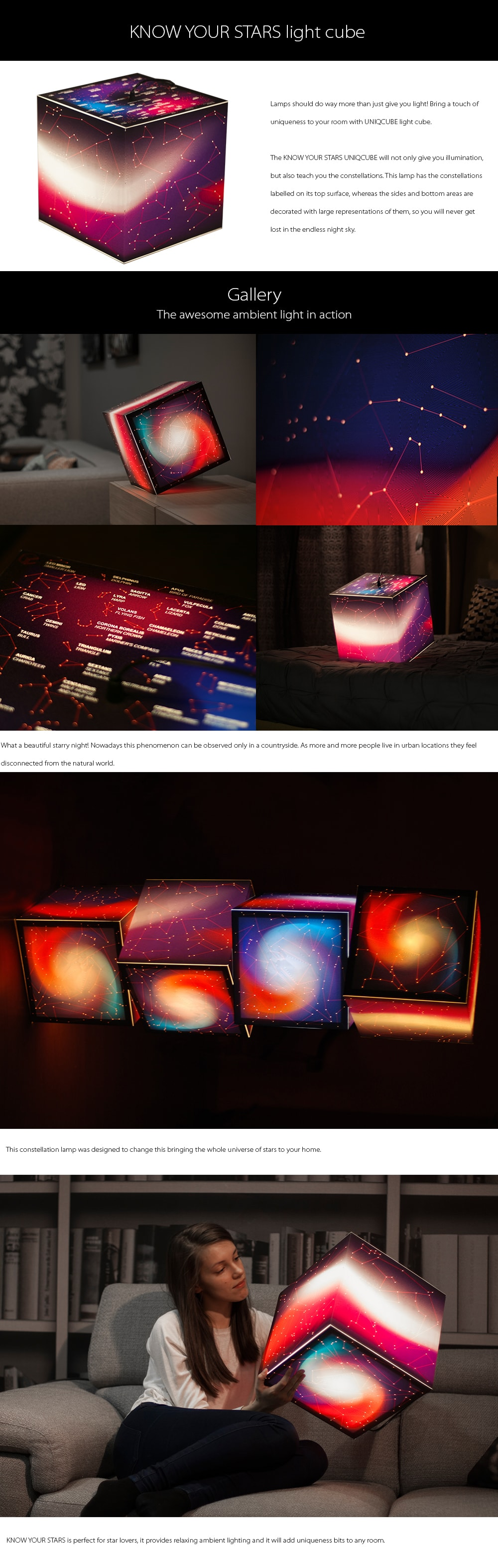 Know Your Stars Constellation Lamp Never Get Lost In The Endless Night Sky