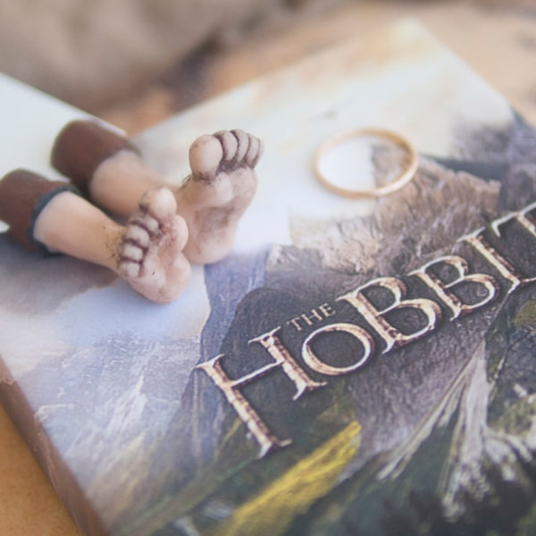 product image for Hobbit Feet Bookmark