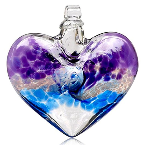 Kitras Van Glow Heart Glass