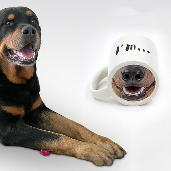 product image for Dog and Piggy Mug