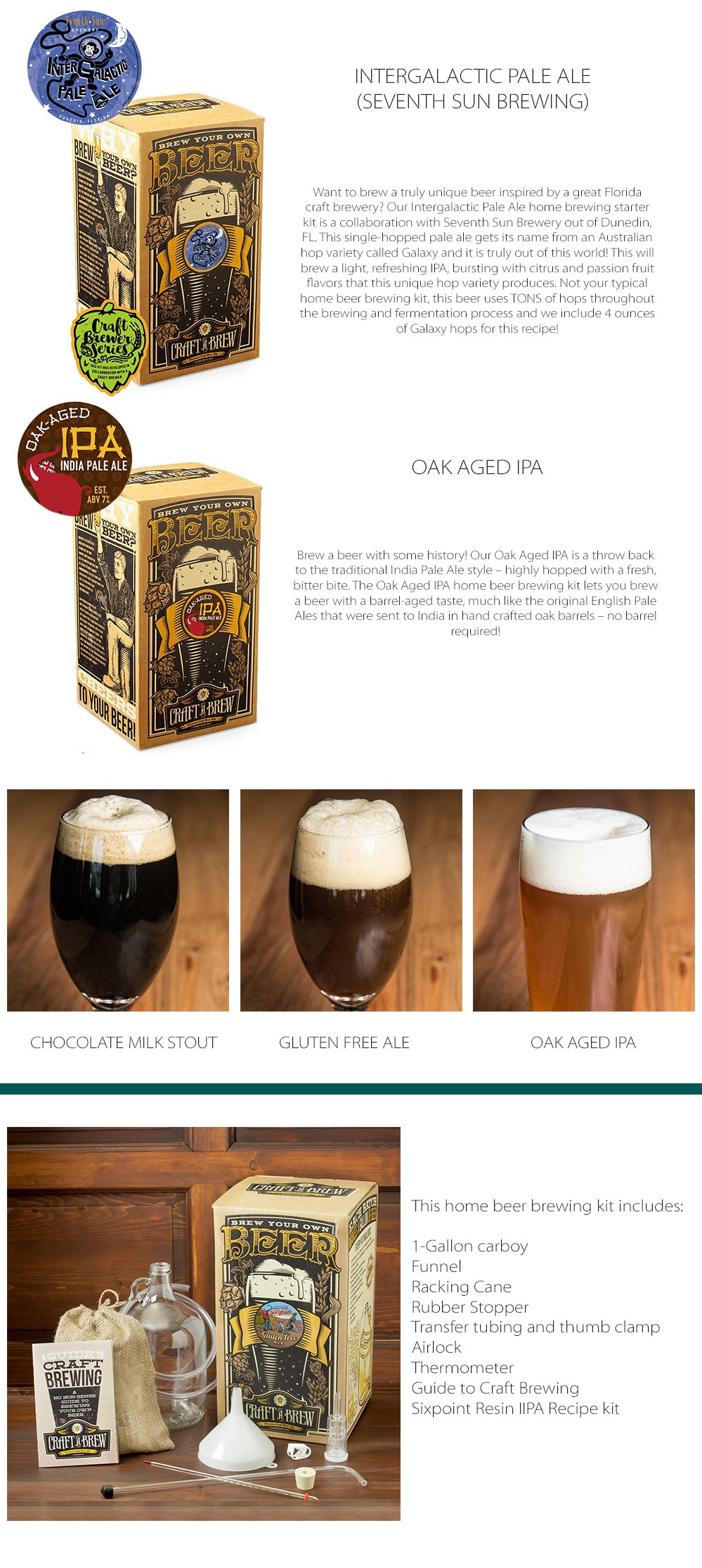 Beer Brewing Kits II - ApolloBox