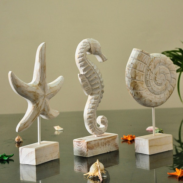 Nautical Style Wooden Decor Collection