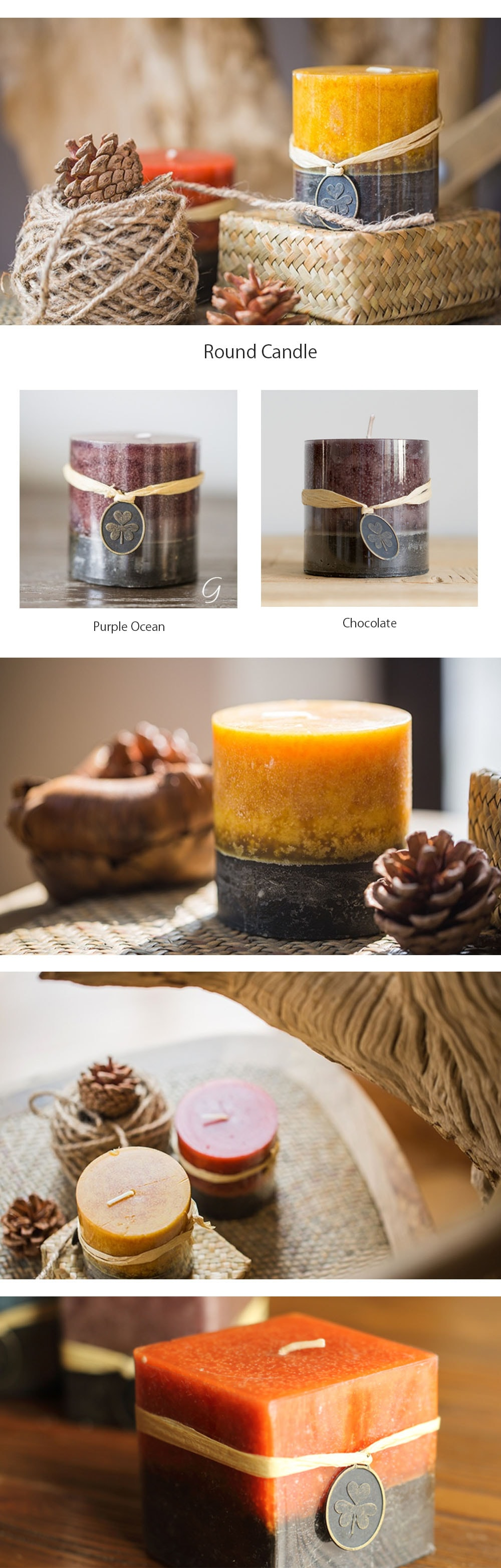 Aromatherapy Candle Collection Fill The Air With A Beautiful Scent