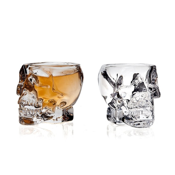 Skull Shot Glass (Set of 2)