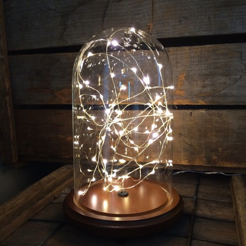 Starry Night Jr. Glass Dome Lamp