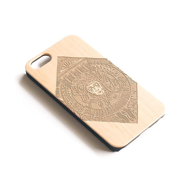 Medusa Wooden iPhone Case
